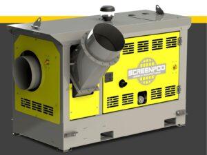 Louer un aspirateur plastique diesel ou déplastiqueur mobile diesel - SCREENPOD AIRVAC 0AV52 - NOVA location - Alpes-de-Haute-Provence, Hautes-Alpes, Alpes-Maritimes, Bouches du Rhône, Var, Vaucluse